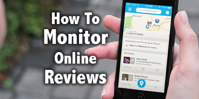 How To Monitor Online Reviews - VPDM
