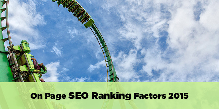 on page google seo ranking factors for 1015