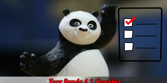 panda algorithm update 4.1 - rules and best practices